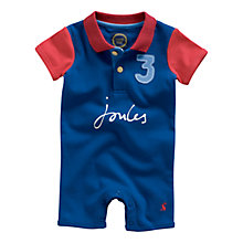 Buy Baby Joule Lawrence Romper, Blue/Red Online at johnlewis.com