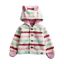 Buy Baby Joule Addie Fleece, Cream/Multi Online at johnlewis.com