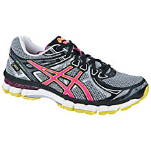 Buy Asics GT-2000 Gore Women's Running Shoes, Grey/Pink Online at johnlewis.com