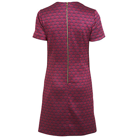 Buy Miss Selfridge Jacquard Shift Dress, Pink Online at johnlewis.com