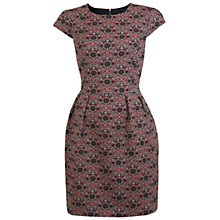 Buy Miss Selfridge Jacquard Tulip Dress, Assorted Online at johnlewis.com