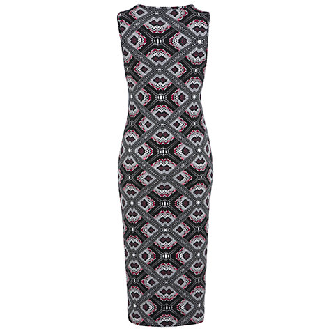 Buy Miss Selfridge Geo Print Dress, Assorted Online at johnlewis.com