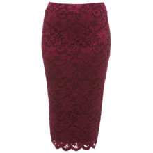 Buy Miss Selfridge Scallop Lace Tube Skirt, Assorted Online at johnlewis.com