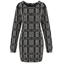 Buy Miss Selfridge Glitter Check Jumper, Assorted Online at johnlewis.com