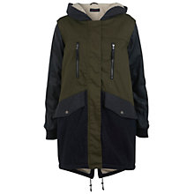 Buy Miss Selfridge Parka Jacket, Assorted Online at johnlewis.com