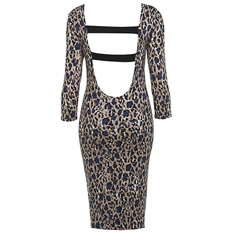 Buy Miss Selfridge Necklace Trim Dress, Assorted Online at johnlewis.com