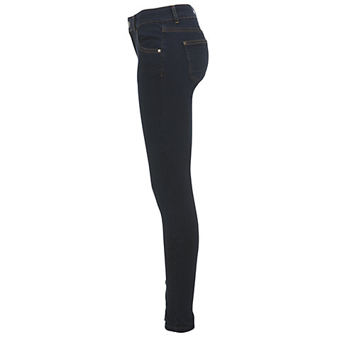 Buy Miss Selfridge Soft Jeans, Indigo Online at johnlewis.com