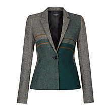 Buy Hobbs Pipher Jacket, Green Online at johnlewis.com