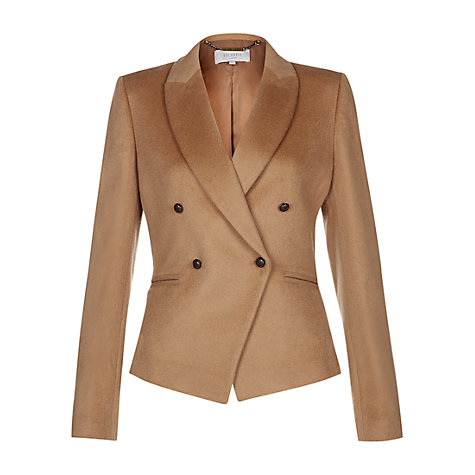 Buy Hobbs Phillipa Jacket, Cinnamon Online at johnlewis.com