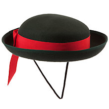 Buy Moorfield School Girls' Felt Hat, Green Online at johnlewis.com