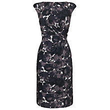 Buy Phase Eight Monochrome Rose Dress, Charcoal Online at johnlewis.com