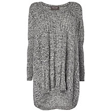 Buy Phase Eight Cleo Cable Jumper, Charcoal Online at johnlewis.com