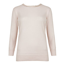 Buy Ted Baker Tahin Jumper, Nude Pink Online at johnlewis.com