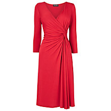Buy Phase Eight Tahlia Knot Dress, Red Online at johnlewis.com