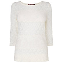 Buy Phase Eight Mix and Match Lace Top, Ivory Online at johnlewis.com