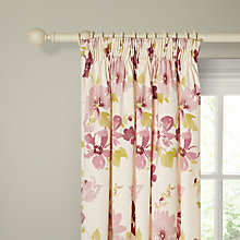 Buy John Lewis Secret Garden Lined Pencil Pleat Curtains Online at johnlewis.com