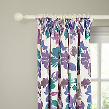 Buy John Lewis Primavera Lined Pencil Pleat Lined Curtains, Multi Online at johnlewis.com