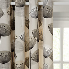 Buy Sanderson Dandelion Clocks Lined Eyelet Curtains, Neutral Online at johnlewis.com