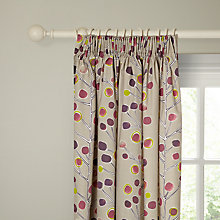 Buy Scion Berry Tree Lined Pencil Pleat Curtains, Pink Online at johnlewis.com