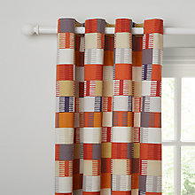 Buy Scion Navajo Lined Eyelet Curtains Online at johnlewis.com