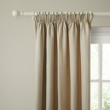 Buy John Lewis Maison Stitch Stripe Lined Pencil Pleat Curtains Online at johnlewis.com