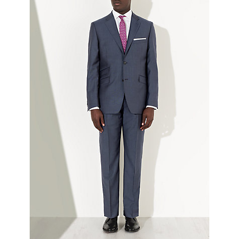 Buy John Lewis Tailored Italian Sharkskin Suit Jacket, Navy Online at johnlewis.com