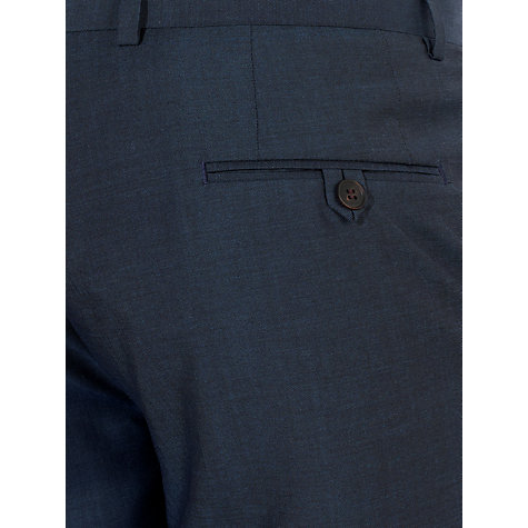 Buy John Lewis Tailored Italian Sharkskin Suit Trousers, Navy Online at johnlewis.com