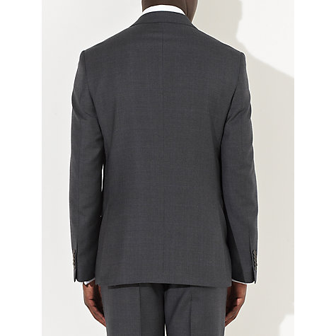 Buy John Lewis Tailored Italian Check Suit Jacket, Charcoal Online at johnlewis.com