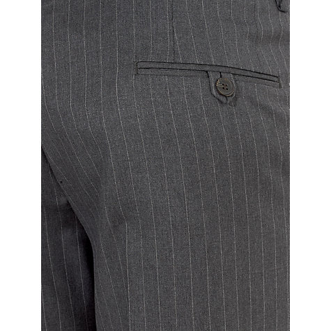 Buy John Lewis Tailored Italian Pinstripe Suit Trousers, Grey Online at johnlewis.com