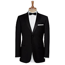 Buy John Lewis Regular Fit Notch Lapel Dinner Suit Jacket, Black Online at johnlewis.com