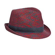 Buy John Lewis Salt & Pepper Trilby Hat Online at johnlewis.com