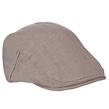 Buy John Lewis Herringbone Flat Cap Online at johnlewis.com