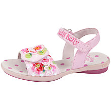 Buy Lelli Kelly Freya Floral Sandals, Pink Online at johnlewis.com