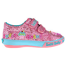 Buy Lelli Kelly Elsie Glitter Trainers, Pink Online at johnlewis.com