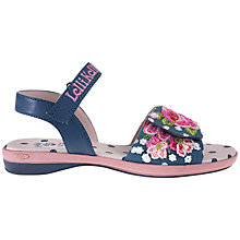 Buy Lelli Kelly Childrens' Freya Sandal, Blue Online at johnlewis.com
