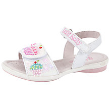Buy Lelli Kelly Elsie Sandals, White Online at johnlewis.com