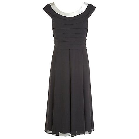 Buy Jacques Vert Monochrome Cocktail Dress, Black Online at johnlewis.com