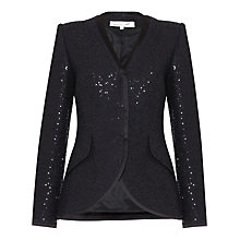 Buy Damsel in a dress Dia Sequin Jacket, Black Online at johnlewis.com