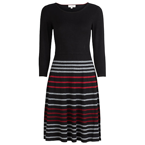 Buy Kaliko Striped Knitted Dress, Multi Online at johnlewis.com