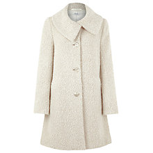 Buy Kaliko Boucle Coat, Neutral Online at johnlewis.com