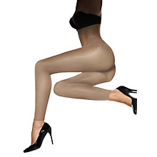 Buy Wolford Velvet de Lux Leggings, Mousse Online at johnlewis.com