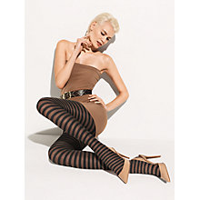 Buy Wolford Nana Striped Tights Online at johnlewis.com