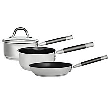 Buy John Lewis Stainless Steel Cookware Online at johnlewis.com