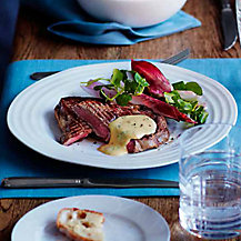 Steak Béarnaise with Oven Chips