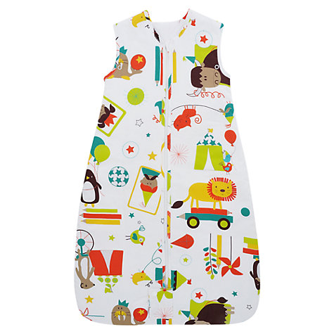 Buy Grobag Carnival Travel Bag, 1 Tog, White/Multi Online at johnlewis.com