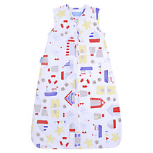 Buy Grobag Sandcastle Bay Travel Bag, 1 Tog, White/Multi Online at johnlewis.com