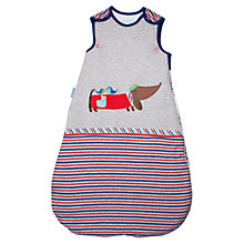 Buy Grobag Le Chien Chic Baby Sleeping Bag, 1 Tog, Grey/Multi Online at johnlewis.com