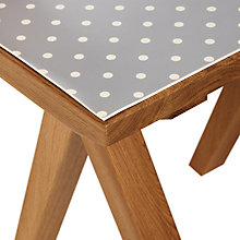 Buy John Lewis Printed Table Protector, Dia.140cm Online at johnlewis.com