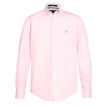 Buy Gant Banker Oxford Stripe Shirt, Pink Online at johnlewis.com