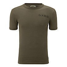 Buy G-Star Raw Kelvin Organic Cotton T-Shirt, Smoke Green Online at johnlewis.com